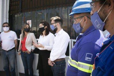 Moreno: Nueva red cloacal que beneficia a más de 12 mil vecinos y vecinas
