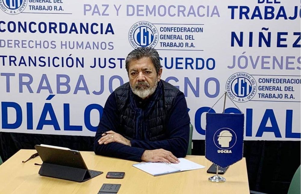 Gerardo Martínez firmó 33% y la UOCRA cierra el círculo paritario de 2020