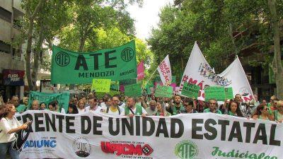 Mendoza: Gremios del Estado se movilizaron exigiendo reapertura de paritarias