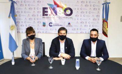 Luque inauguró la 7° Expo Industrial, Comercial e Innovación Tecnológica