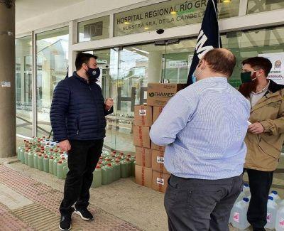 ASIMRA realizó donaciones en Río Grande