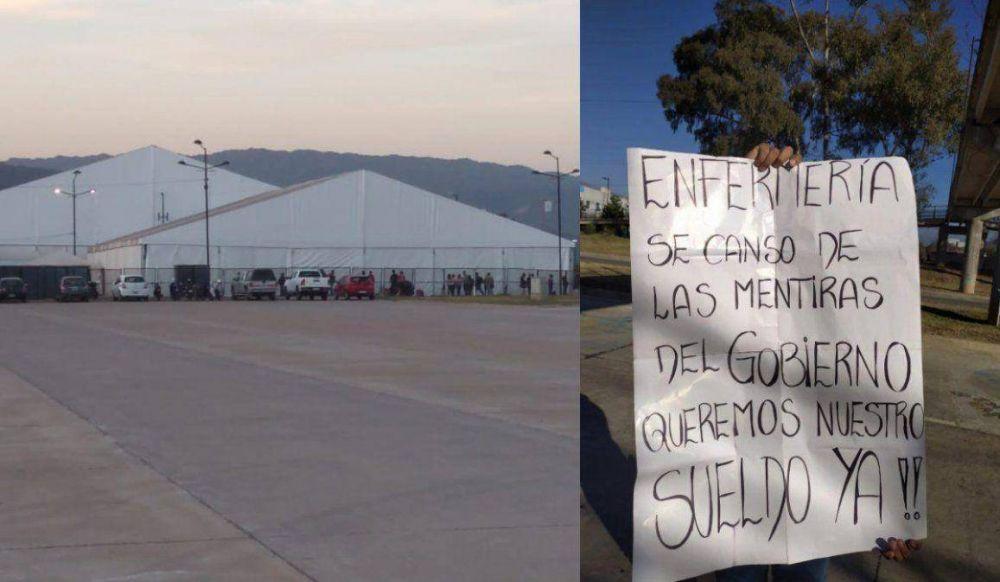 Enfermeros despedidos del Hospital de Campaña denuncian persecución del gobierno