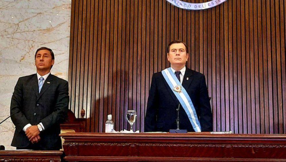 El gobernador Zamora se refirió al bono de fin de año para el sector público