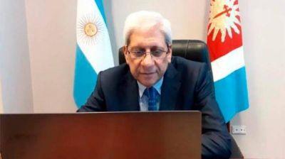 """Neder: """"El gobernador ratificó los ejes centrales de su gestión"""""""