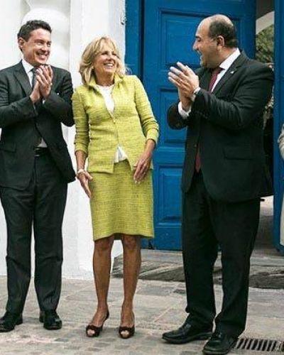 La esposa de Joe Biden en Tucumán en 2016 invitada por Manzur: resaltan la estrecha relación del gobernador con el Partido Demócrata de Estados Unidos