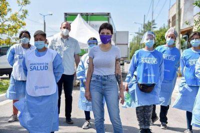 """Mayra Mendoza insistió en la necesidad de """"seguir manteniendo las medidas de prevención"""""""