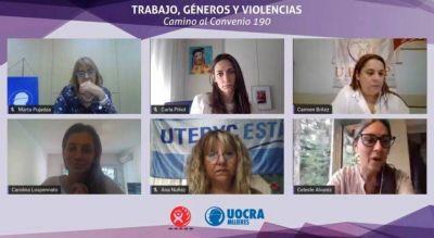 """""""Trabajo, géneros y violencias"""", el ciclo de formación que brindaron mujeres de la UOCRA"""