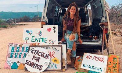 Sábado de recolección de residuos y reforestación voluntaria en Lago Azul