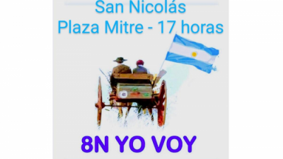 8N: Nueva marcha