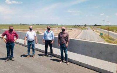 Avanza la construcción de la Autopista Luján-Junín