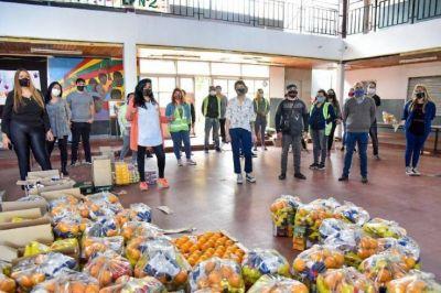 Gran aceptación en las escuelas del Servicio Alimentario Escolar