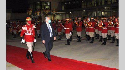 El Presidente participa del acto de asunción de Luis Arce en Bolivia