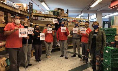 Ledesma se corta de la Federación y sostiene las protestas en los supermercados del Oeste del conurbano