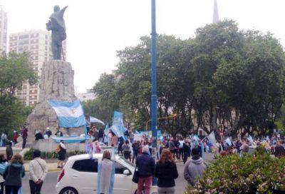 Marplatenses volvieron a manifestarse contra las políticas del Gobierno Nacional