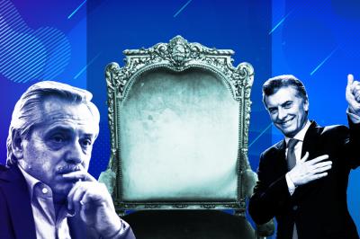 Solo en Off: Alberto Fernández, Mauricio Macri y el sillón que nadie quiere usar