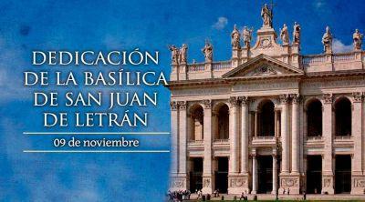 Hoy se celebra la Dedicación de la Basílica más antigua de la Iglesia Católica