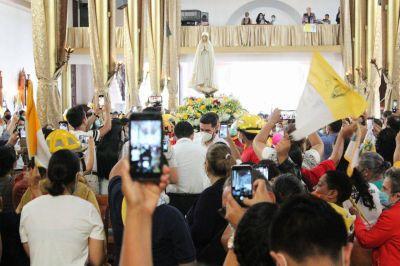 Nicaragua: Reinicia la peregrinación de la Virgen de Fátima