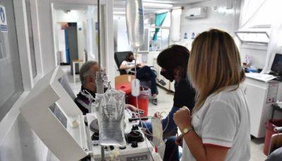Solidaridad: más de cien personas ya donaron plasma en la provincia