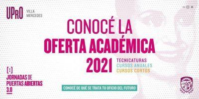 La UPrO presentó la oferta académica 2021 para Villa Mercedes