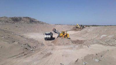 Finalizó la construcción del segundo Relleno Sanitario del Centro de Tratamiento de Residuos de Sarmiento