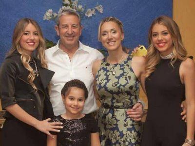 Julio Cobos, papá a los 65 años: