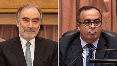 Bruglia y Bertuzzi se reincorporaron hoy a la Cámara Federal después del fallo de la Corte Suprema