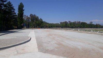 La nueva costanera del lago San Roque se inaugurará en diciembre