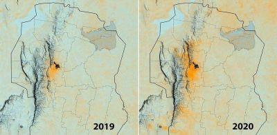 Detectan altos niveles de contaminación en el aire de la provincia por los incendios