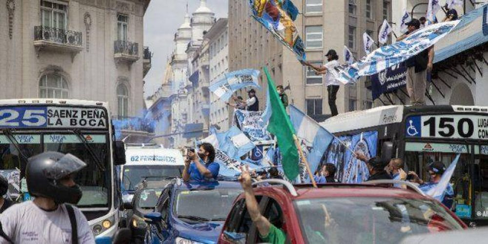 Avanza la organización de una caravana nacional por el Día del Militante y en apoyo al Gobierno