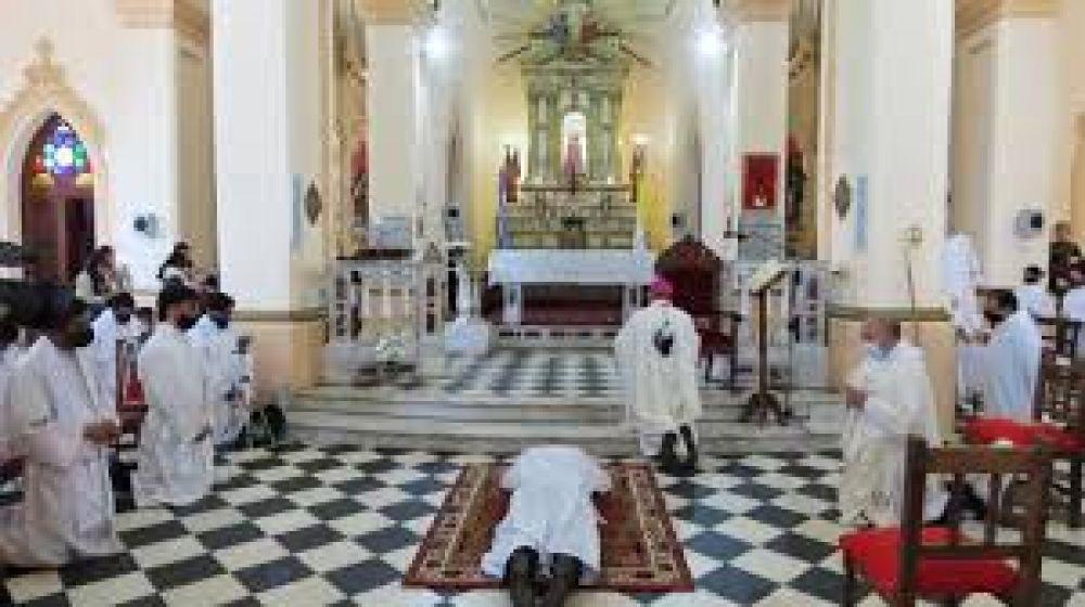 Un nuevo diácono fue ordenado en Cafayate