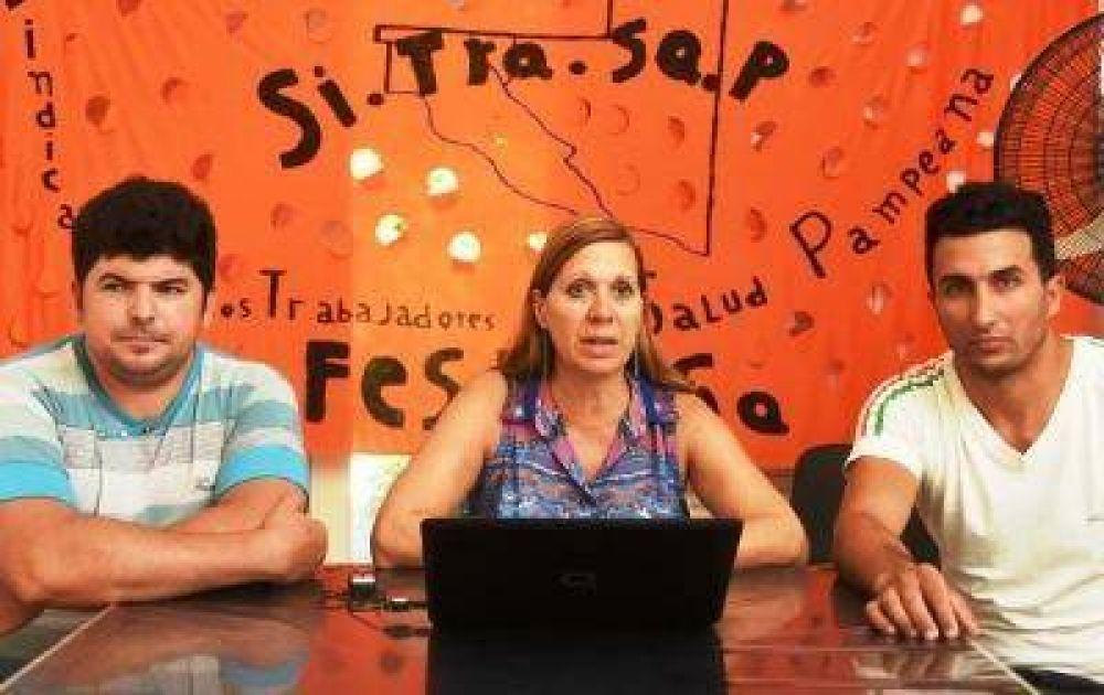 """El SITRASAP pide que """"tomen en serio"""" a los trabajadores"""