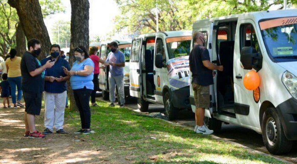 Transportistas entrerrianos realizan un nuevo reclamo