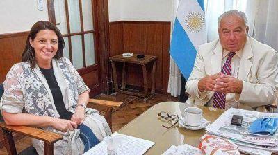Florito se reunió con el presidente de la Corte santafesina