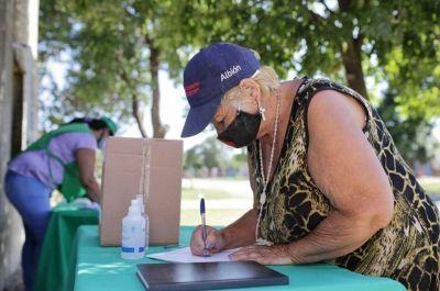 La municipalidad avanza con la entrega de escrituras