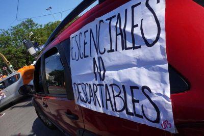 Masiva movilización de los trabajadores de la salud en la provincia