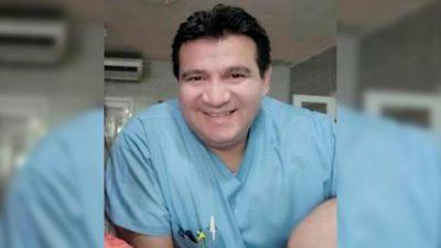 """Piden por la salud de un enfermero del Hospital Sayago: """"Señor, fortalece sus pulmones para que resistan"""""""