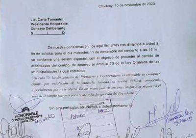 HCD: Se pidió formalmente la remoción de autoridades