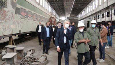 """Meoni agradeció a la Coottaj por haber """"mantenido en pie el trabajo ferroviario"""""""
