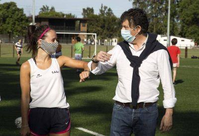 San Isidro: el Municipio habilitó los deportes en equipos de hasta 10 personas