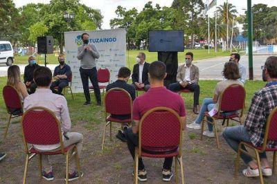 Ituzaingó | Pablo López y Alberto Descalzo se reunieron con los actualizadores del ADRA