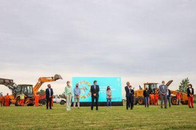 Fassi firmó un convenio con Nación para la construcción de dos viaductos en Cañuelas