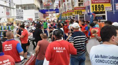 Comercio: Paralizan hipermercados y mayoristas del conurbano oeste