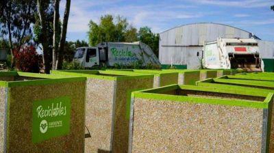 General Belgrano: aumentan la cantidad de contenedores para reciclables