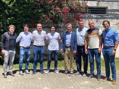 Mauricio Macri acelera sus reuniones con dirigentes para afianzar nuevos liderazgos en la provincia