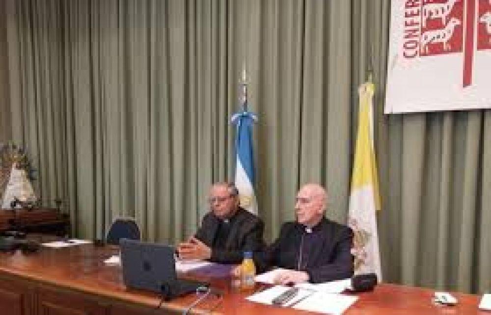 Reunión virtual de más de un centenar de obispos argentinos