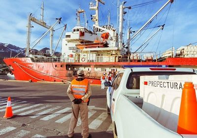 Otro buque pesquero con Covid: Ya son 7 los tripulantes que dieron positivo