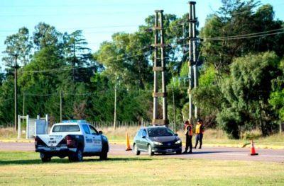 Coronel Suárez levantó los controles policiales en sus accesos