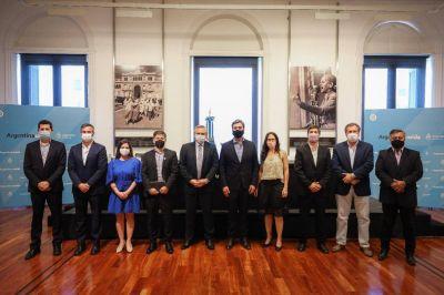 Río Luján: firman convenios por 155 millones de dólares