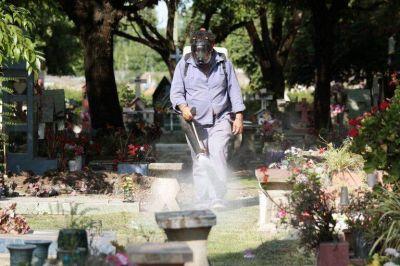 El Municipio de Brown profundiza los trabajos de prevención del dengue
