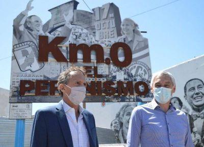 """Desde Berisso, Katopodis aseguró que """"ya estamos en marcha con proyectos importantes"""""""
